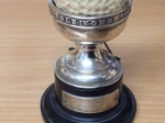 Hole-in-one trophy from Hickleton Golf Club.